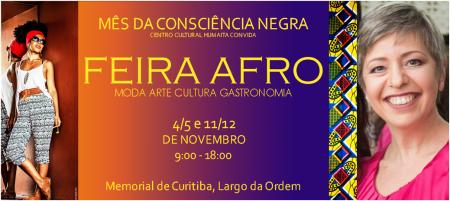 Lenia Luz na Feira Afro
